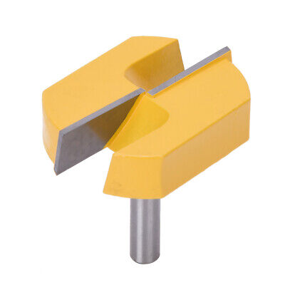 8mm Shank Router Bit Wood Table Bottom Cleaning Slotting Woodworking Cutter Tool
