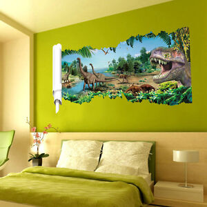 wandtattoo dinosaurier wandtattoos wandbilder ebay. Black Bedroom Furniture Sets. Home Design Ideas