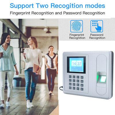 Intelligent Fingerprint Attendance Machine Time Clock Checking-in Reader A6 F7k7