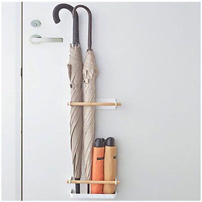 Stand Wall Mounted Umbrella Holder Drip Tray Stable Space Saving Magnetic Indoor
