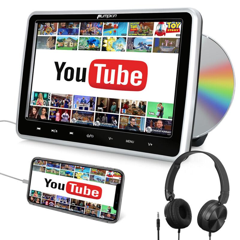 "10.1"" Portable DVD Player Car Headrest HDMI Region Free Remote Control Headphone"
