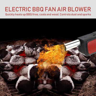 Portátil eléctrico Soplador de aire Ventilador de barbacoa para exterior Picnic