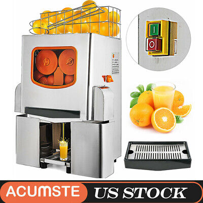 Commercial Electric Orange Squeezer Juice Fruit Lemon Maker Juicer Press Machine