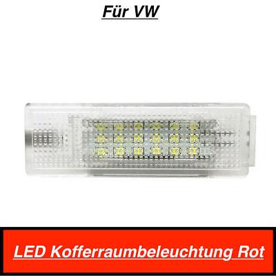 1x Top 18 SMD LED MODUL Kofferraumbeleuchtung Für VW Volkswagen Rot (406)
