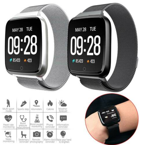smart watch heart rate blood pressure monitor
