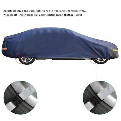 FOR Outdoor 3XXL Full Car Cover PEVA Breathable Waterproof Snow UV Resistant
