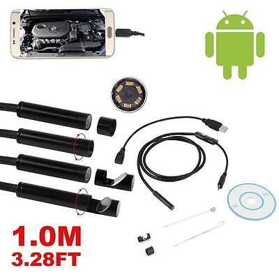 Разное 3.28FT Waterproof USB Inspection Camera