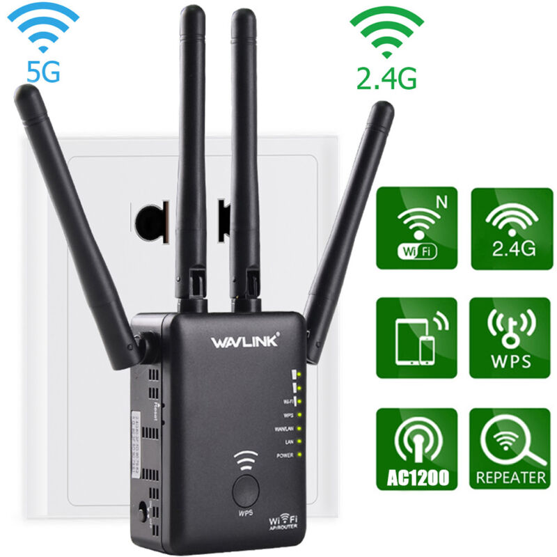 Wavlink 1200/300Mbps Wifi-Repeater&Router Wireless Range Ext