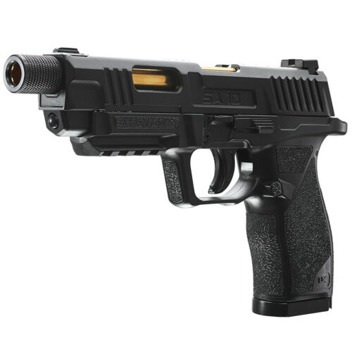 UMAREX UX SA10 Co2 Blowback .177 BB / Pellet Air Pistol Black & Gold 2252113