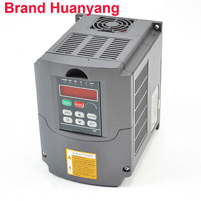 UPDATED 3KW 220V 4HP 13A VFD VARIABLE FREQUENCY DRIVE INVERTER