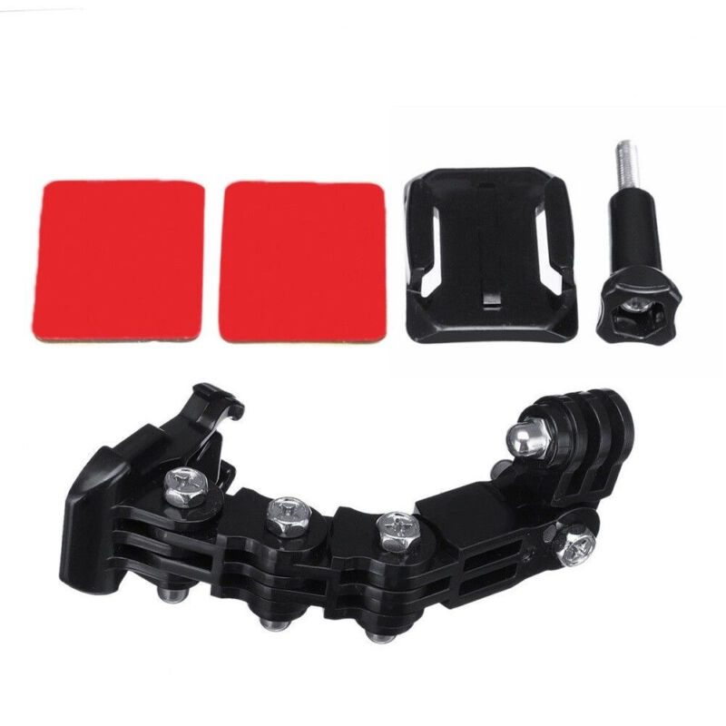 Helmet Front Chin Mount Camera Holder For GOPRO Hero 7 6 5 4 Accessories US