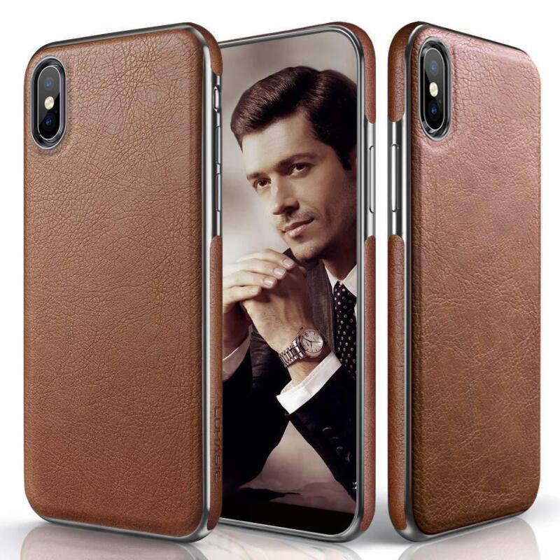 Christmas iPhone Xs Max Case Premium Leather Slim Luxury Fle