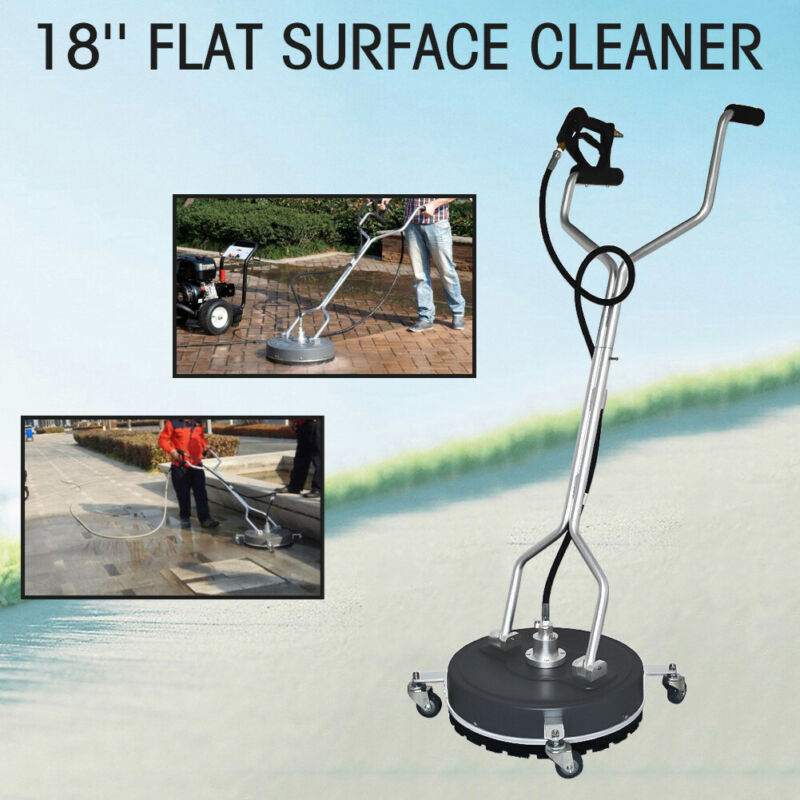 """18"""" Diameter Pressure Washer Concrete or Flat Surface Cleaner 3/8"""" Blasthole"""