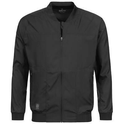 Schwarze Herren Activewear (Skins Activewear Vayder Herren Bomberjacke Freizeit Jacke SP00450319001 neu)
