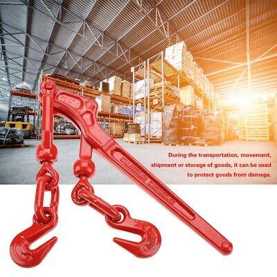 Steel Load Binder Pull Lever 14 - 516 Chain Hook Tie Down Rigging Equipment