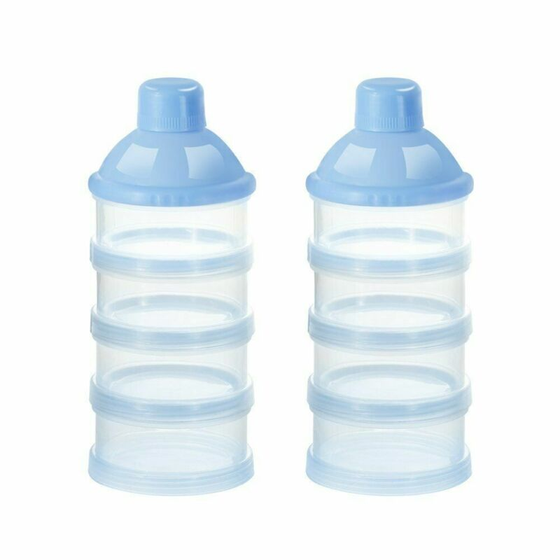 Baby Milk Powder Formula Dispenser Non-Spill Smart Stackable Baby Feeding Snacks
