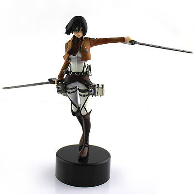 Anime Shingeki No Kyojin Attack On Titan Mikasa Ackerman Pvc Figure Doll 6
