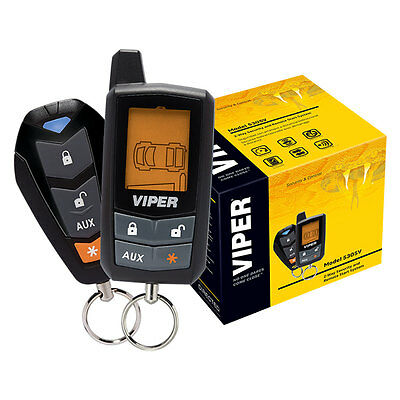 Viper 5305V 2-Way Car Alarm Security System and Remote Start System NEW 5305