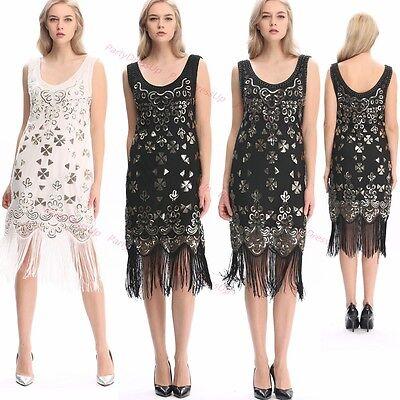 Roaring Party dress 20s Dress Flapper Costume Sequin Ganster Fancy Dress Up](20s Dress Up)