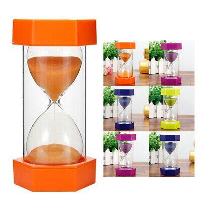 1/3/5/10/15/30 Minuten Sand Timer Sanduhr Geschenk Zeit Heim Dekor Trend
