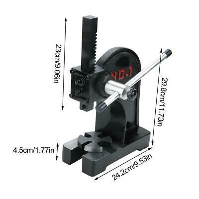 1 Ton Arbor Press Mountable Bearings Lever Bench U Joints Pins Assembly Hand New