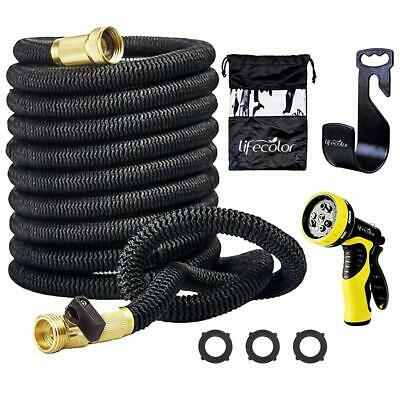 lifecolor 50' Expanding Hose Stretch Hosepipe, 9 Functions Sprayer, Strongest Ex