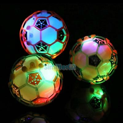 Children LED Jumping Ball Football Music Singing Soccer Kid Toddler Learning Toy - Jumping Toy