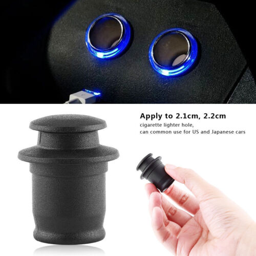 antipolvere tappo di copertura per presa accendisigari auto Nero 2.1/2.2cm