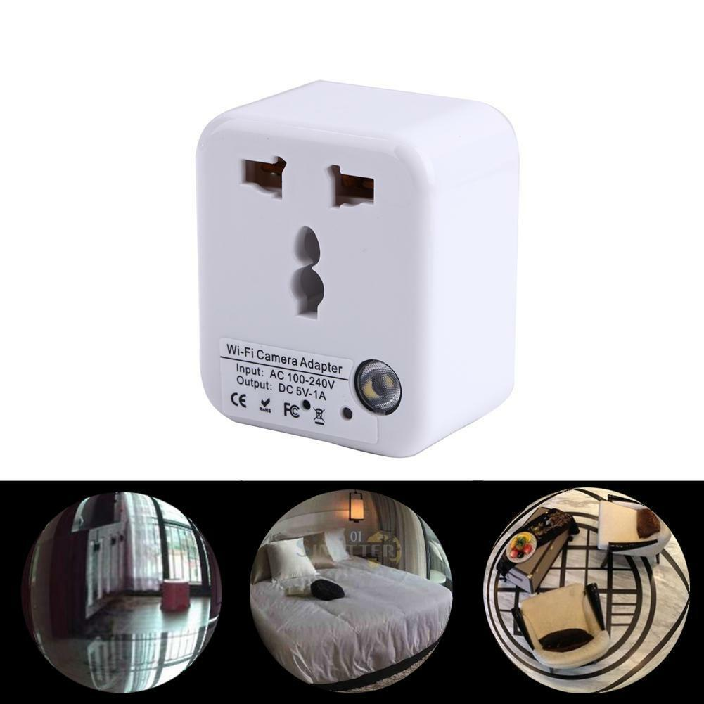 1080P HD WiFi Spy Hidden Covert Camera DVR Recorder Wall Charger Power Adapter