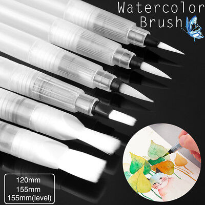 Water Coloring Brush Pens, Set of 6 Brush Tips for Watercolor Painting