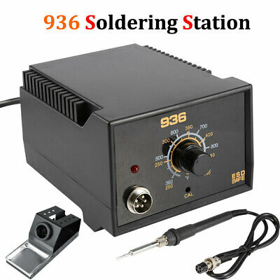 936 Power Iron Frequency Change Desolder Welding Soldering Station 110v 60w