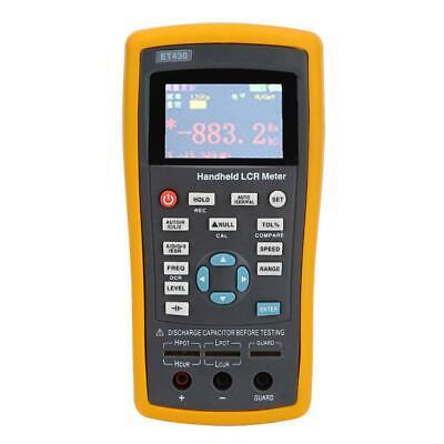 Handheld High Lcr Resistance Inductance Capacitance Meter Tester