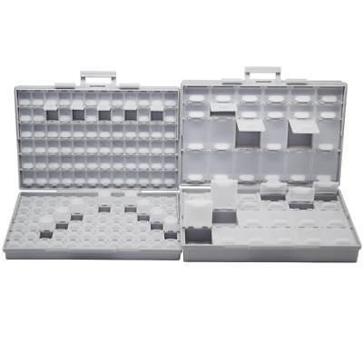 Aidetek Smt Resistor Capacitor Storage Box Organizer 0603 0402 Boxal144boxall48