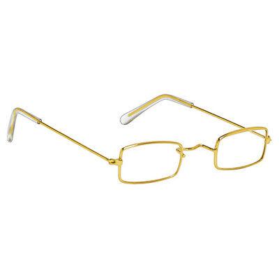 Rectangle Santa Claus Glasses