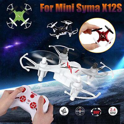 MINI Syma X12S Nano 4CH 6-Axis Gyro RC Quadcopter Mini Drone RTF UFO Aircraft US