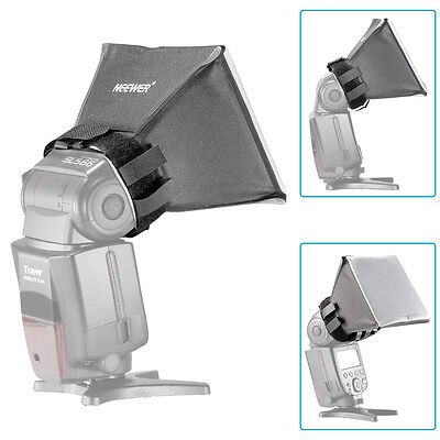 NEEWER Universal Flash Light Diffuser Softbox for Canon Nikon Sony DSLR USA