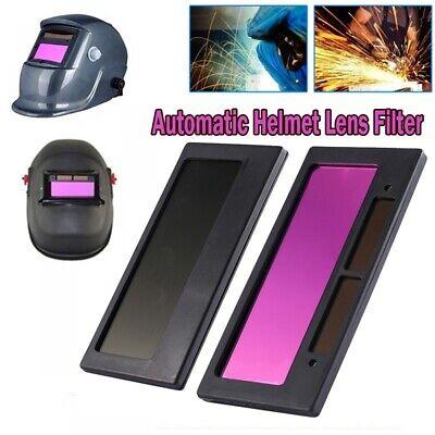 4-14 X 2 Solar Auto Darkening Welding Helmet Lens Filter Shade Tool Hot Sale