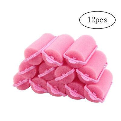 12 Pcs Sponge Hair Curlers Foam Soft Round Sponge Balls Curlers Hair Roller Bun