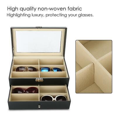 Brillenbox Sonnenbrillen Aufbewahrungs Schmuckkästchen Für Brillen Anzeige Leder