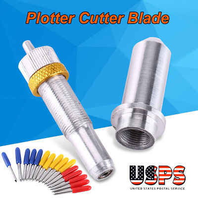 Lots 15x 304560 Degree Vinyl Cutter Blade For Roland Cricut Plotter W Holder