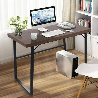 Industrial Style Desk Vintage Writing Table Rustic Urban Computer Gaming Laptop