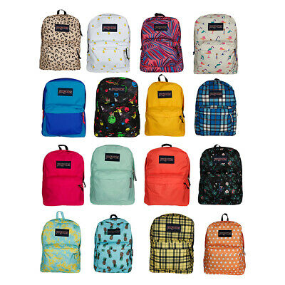 New JanSport T501 Original SuperBreak 100% Authentic School Backpack Bags