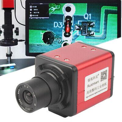 14mp Hd Industrial Microscope Camera Bnc Vga Usb Av Tv Output Zoom C-mount Lens