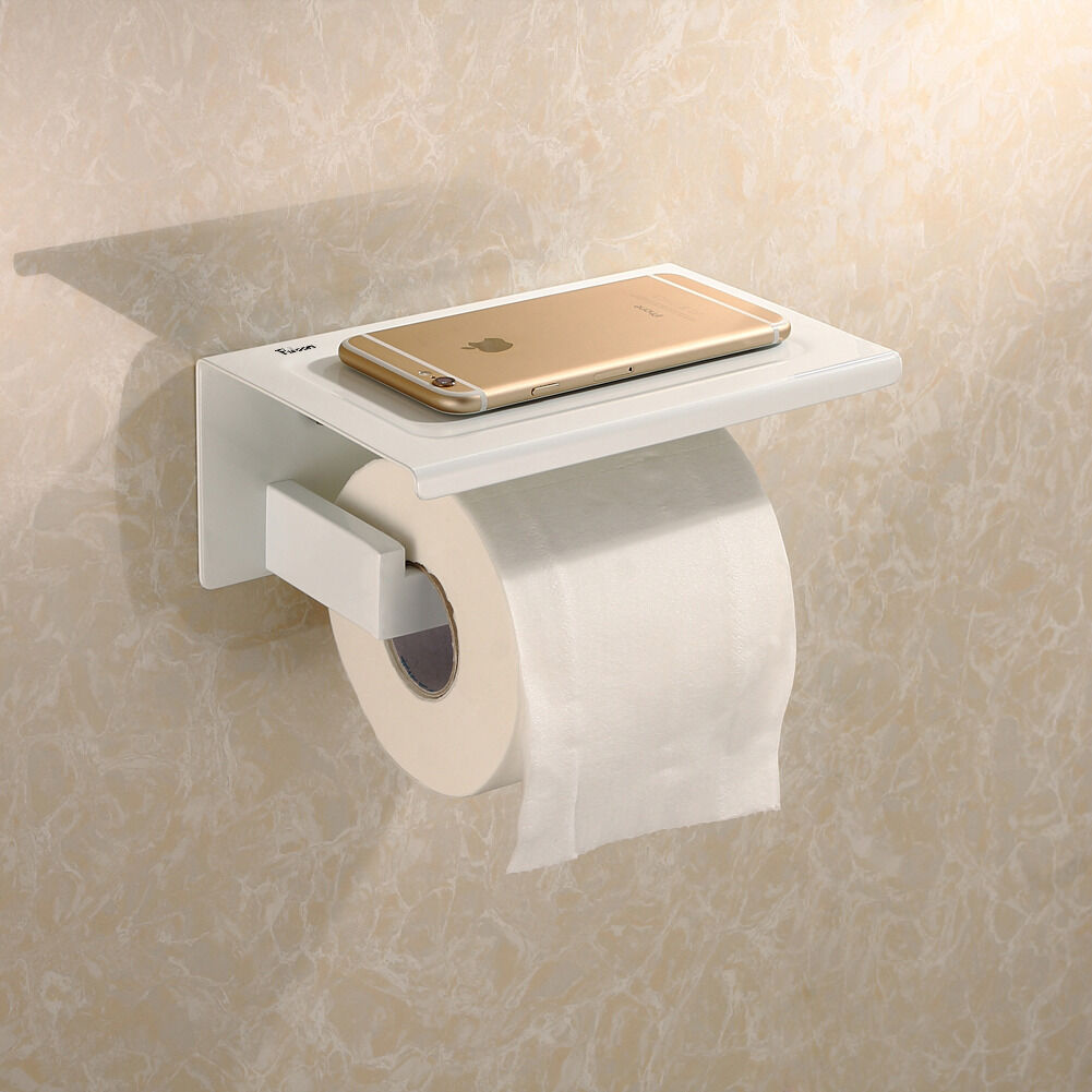 New Toilet Paper Holder Square Roll Stainless Bathroom