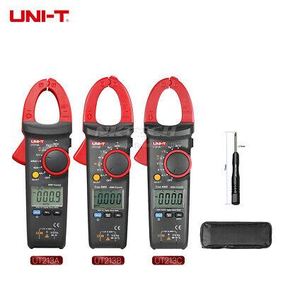 Uni-t Digital Clamp Meter True Rms Auto Range Multimeter Temp Freq Ncv Ammeter