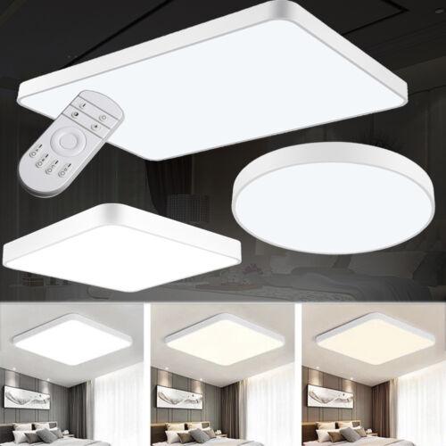 16-96W LED Deckenlampe Deckenleuchte Wohnzimmer Badleuchte Küche Ultraslim IP44