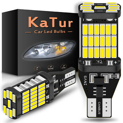 Super Bright White CANBUS LED Bulb For Car Backup Reverse Light 912 921 T15 W16W