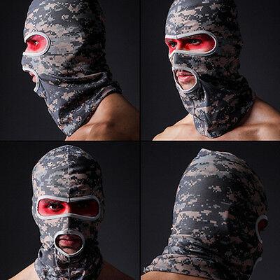 Digital ACU Camo Hunting Motorcycle Cycling Sports Balaclava Full Face Mask Hood
