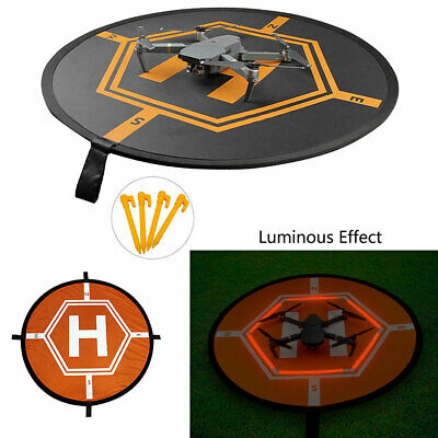 Portable Drone Landing Pad With Night LED for RC Quadcopter Helicopter Foldable