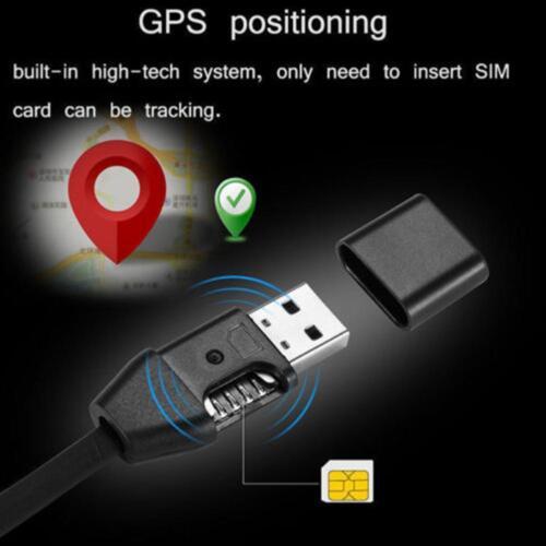 Wireless GSM SIM Spy hidden USB cable design audio sound voice listening bug QU